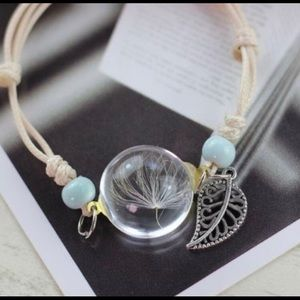 Jewelry - Bracelet | Dandelion and Feather Charm